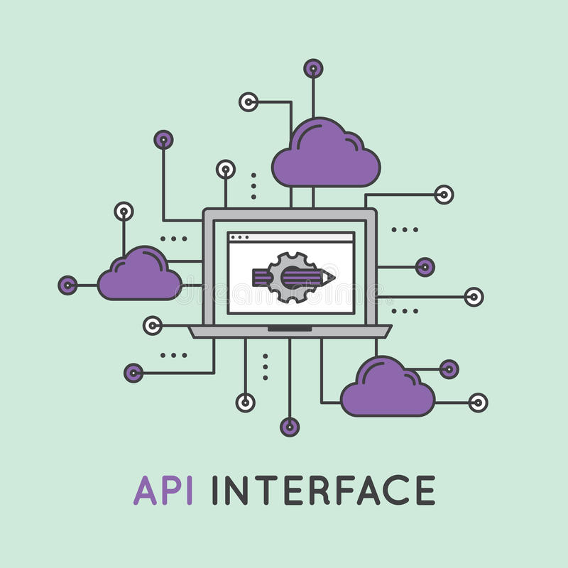get structured information via API
