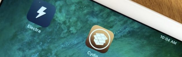 iPhone with Cydia